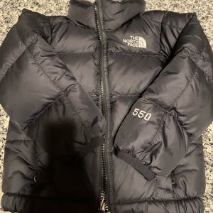 The north face 2T 550fill down jacket